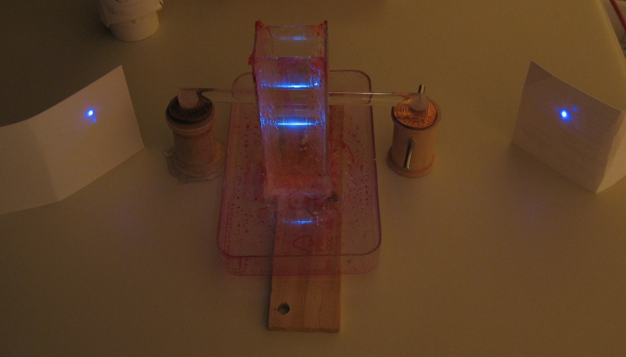 how to make a dye laser